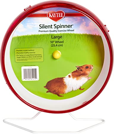 Kaytee Silent Spinner 10 Exercise Wheel Large Colors May Vary Amazon Ca Pet Supplies