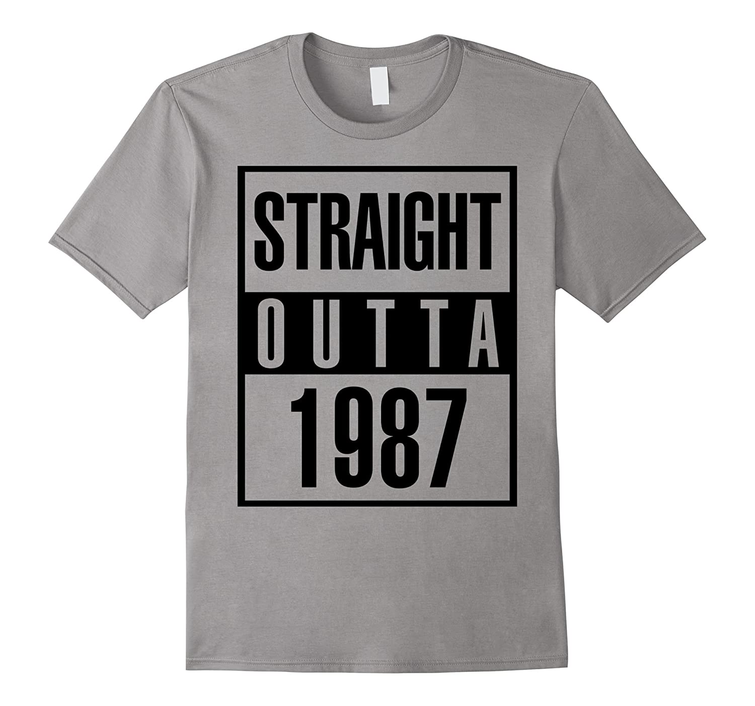 1987 30th Years Old Funny Birthday Gift T-Shirt-Art