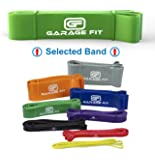 Garage Fit Pull Up Assist Band, Stretch Resistance Mobility Band - Powerlifting Bands - Extra Durable, Pull-Up Assist Bands for Cross Training Exercise