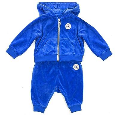 84af7187cdbf1 Converse - Survêtement - Bébé (garçon) 0 à 24 Mois - Bleu - 3-6 Mois ...