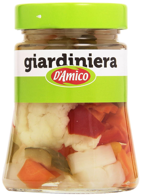 D'Amico Giardiniera Aromatizzata all'Aceto di Vino - 300 gr