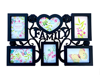 Amazon.com - BestBuy Family Photos Collage Picture Frames Wall ...