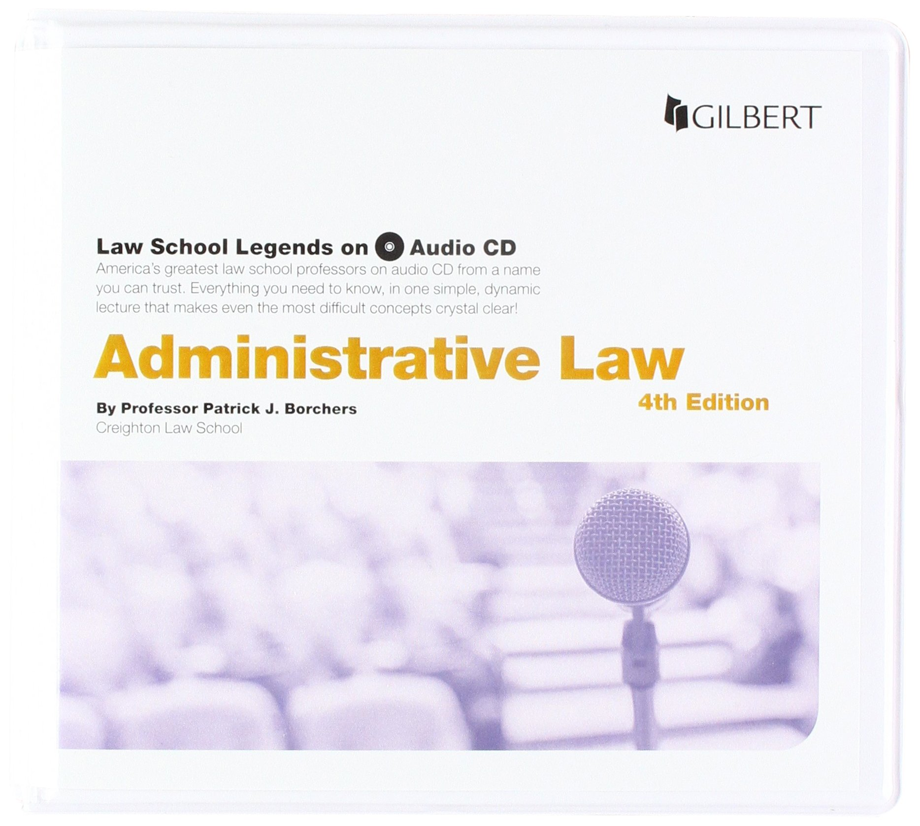 Law School Legends Audio on Administrative Law (Law School Legends Audio Series)