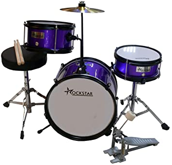 Rockstar GC1044PK1 Bateria Infantil Morada: Amazon.es: Instrumentos musicales