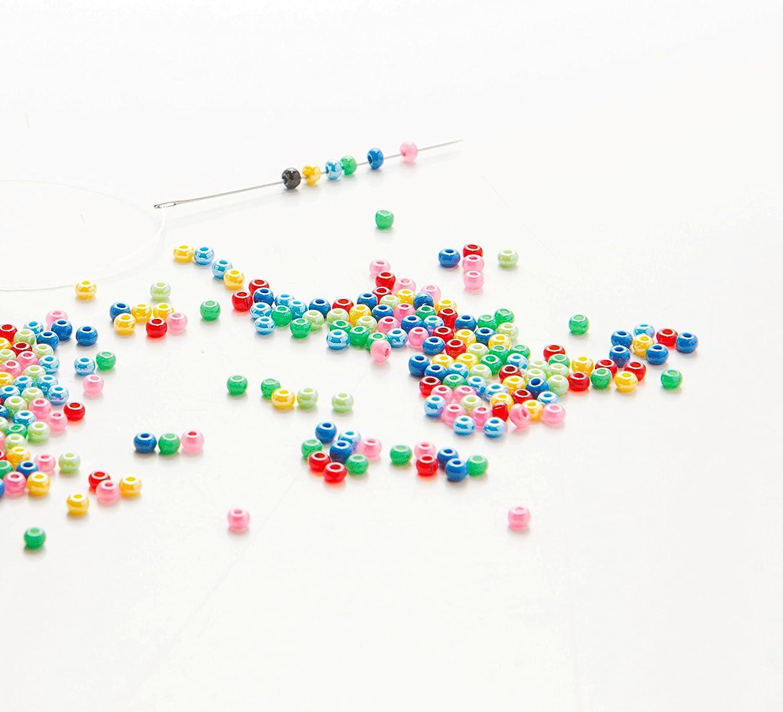 HomeHobbyArt Stickbild mit Perlen komplette Stickpackung Wunder-Vogel 50x50 Stickset Stickerei Set Handarbeit Stickvorlage vorgedruckt vorgezeichnet Bild zum selber Sticken