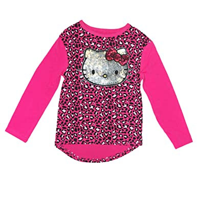 81290b0e2 Amazon.com: Wee Play Sanrio Little Girls' Hello Kitty Long Sleeve ...
