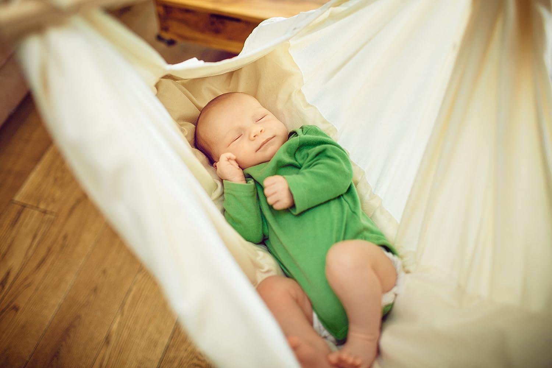 Szeneriebild Babyhängematte