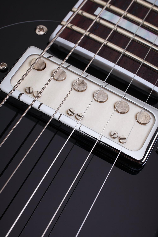 Schecter tsh-1 guitarra eléctrica, metálico rojo Reverse Burst ...