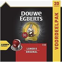 Douwe Egberts Koffiecups Lungo Original (200 Capsules, Geschikt voor Nespresso* Koffiemachines, Intensiteit 06/12…
