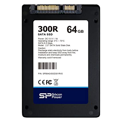 Silicon Power 64 GB 300R Industrial 2,5