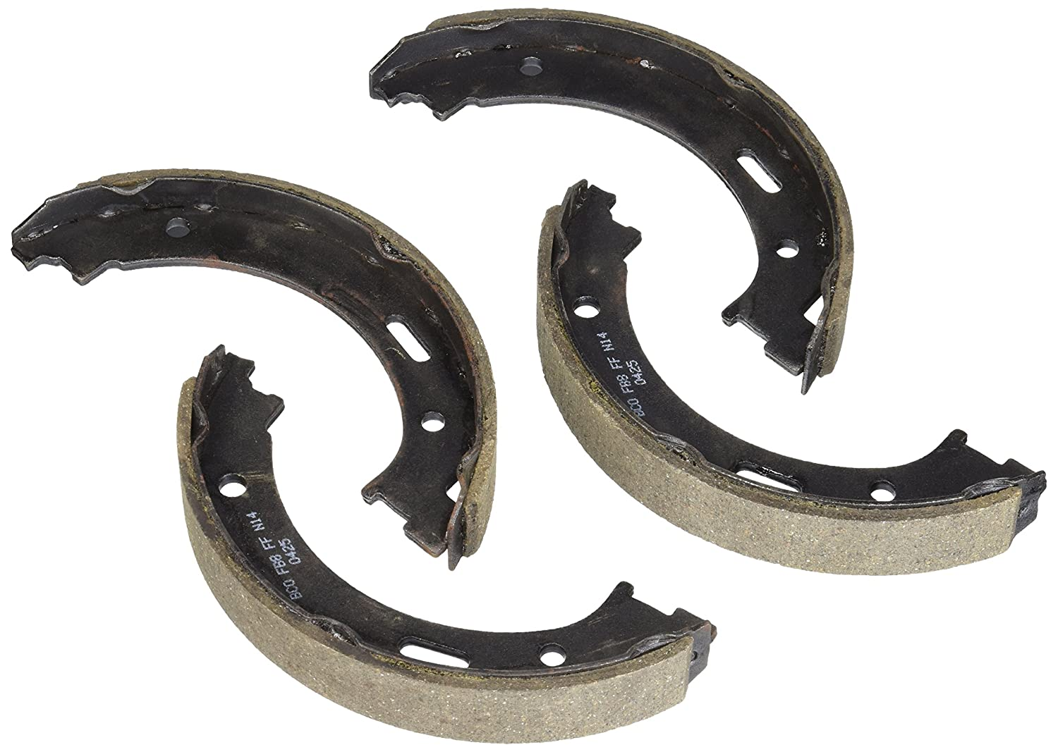 Bosch BS843 Blue Disc Parking Brake Shoe Set