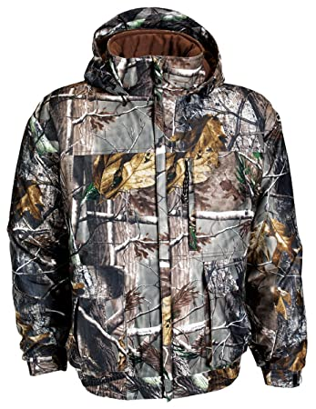 623cc86bbcbc4 Russell Outdoors Men's Drystalker Hooded Jacket, Realtree AP, XX-Large