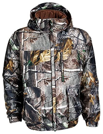 a63784fa285b7 Russell Outdoors Men's Drystalker Hooded Jacket, Realtree AP, XX-Large