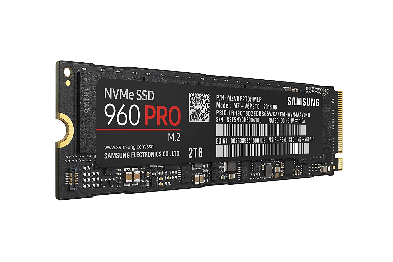 Samsung 960 Pro M.2 2TB Review – The best just got better
