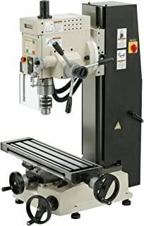 shop fox m1110 6 inch by 21 inch variable speed mill and drill rh amazon com X2 Mill Sieg X3 CNC Conversion