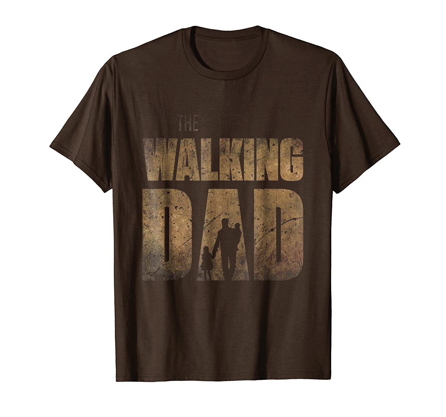 Funny Walking Dad T-Shirt Gift Father's Day Tee Shirt- TPT