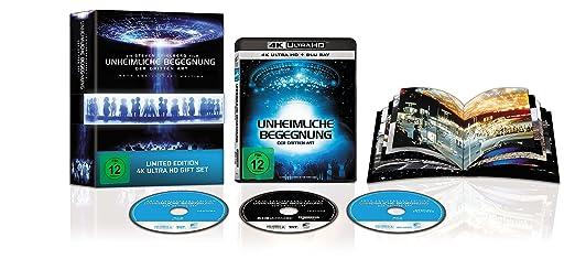 Unheimliche Begegnung der Dritten Art (40th Anniversary 4K UHD Ultimate Edition, inkl. 64 Seiten Booklet)(exklusiv bei Amazon.de) [Blu-ray]