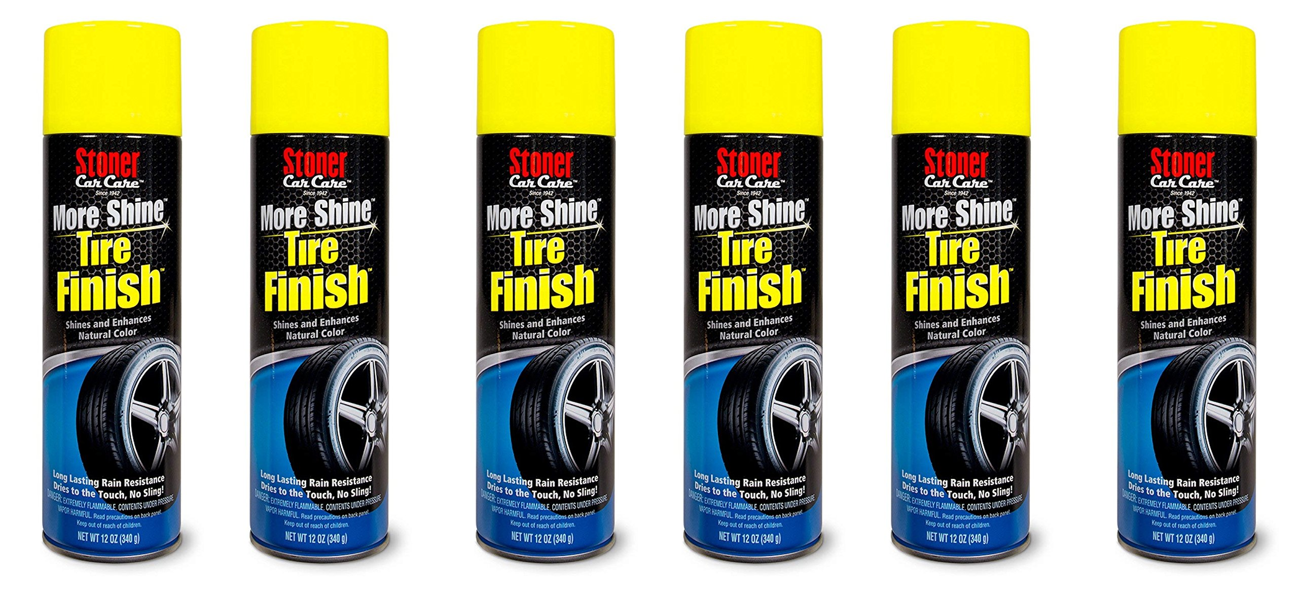 Stoner Car Care 91094 More Shine Tire Finish - 12-Fluid Ounces (6) by Stoner Car Care (Image #1)