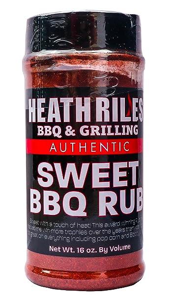 Heath Riles BBQ Especias para barbacoa Frote dulce de ...