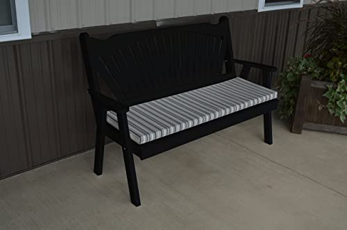 Pine 6' Fanback Garden Bench