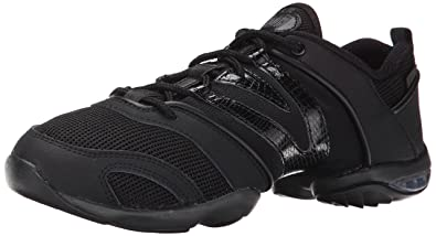 Bloch Women's Evolution Dance Sneaker,Black,5.5 X(Medium) US