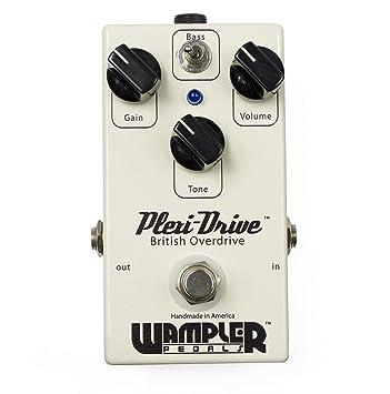 Wampler Plexi-Drive · Pedal guitarra eléctrica: Amazon.es: Instrumentos musicales