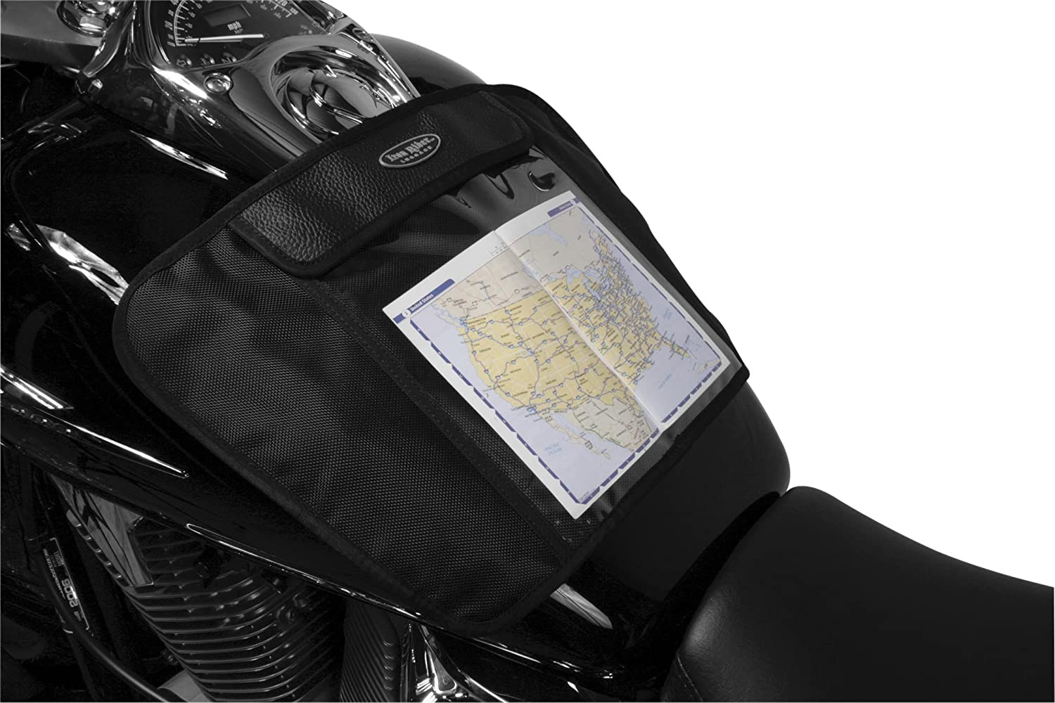 Dowco 50116-00 Iron Rider Magnetic Mount with Map Pocket