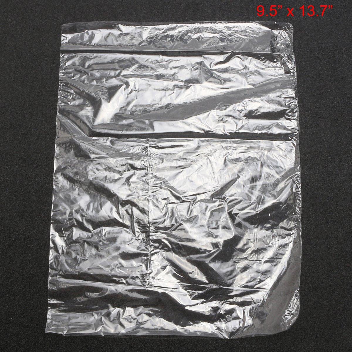 Buste termorestringenti per imballaggio trasparenti 24 x 35 cm confezione da 100 pezzi