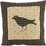VHC Brands 7164 Kettle Grove Pillow Crow 10x10