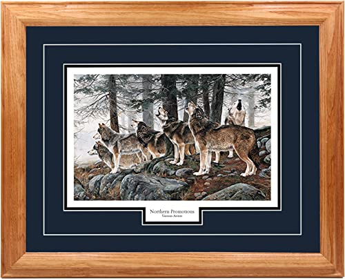 Northern Promotions LLC Wolf Nature Wall Art Hunting Decoration