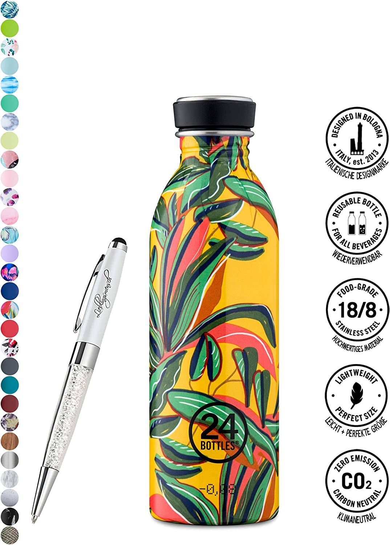 250 ml Peach Orange 250/ml, 500/ml ou 1000/ml 24 Bottles featuring Lieblingsmensch Urban Bouteille disponible dans diff/érentes couleurs et diff/érents formats