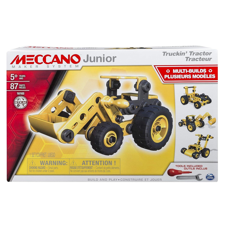 Meccano Junior, Truckin' Tractor, 4 Model Set Truckin' Tractor 6027019