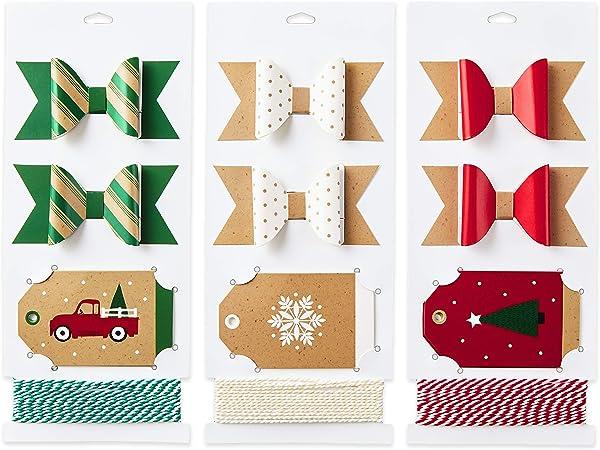 Scalloped Edge Gift Tags Christmas Wedding 230gsm Red /& White Snowflakes