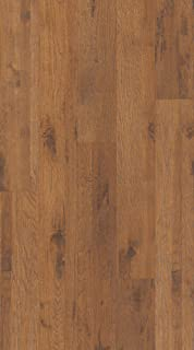 """product image for Shaw SL300-00277 Shaw SL300 Riverdale Hickory 5-7/16"""" Wide 12mm Thick Laminate Flooring - Sold by Carton (19.16SF/Carton)"""