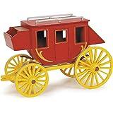 DARICE 9193-02 Premium Wood Kit, Stagecoach