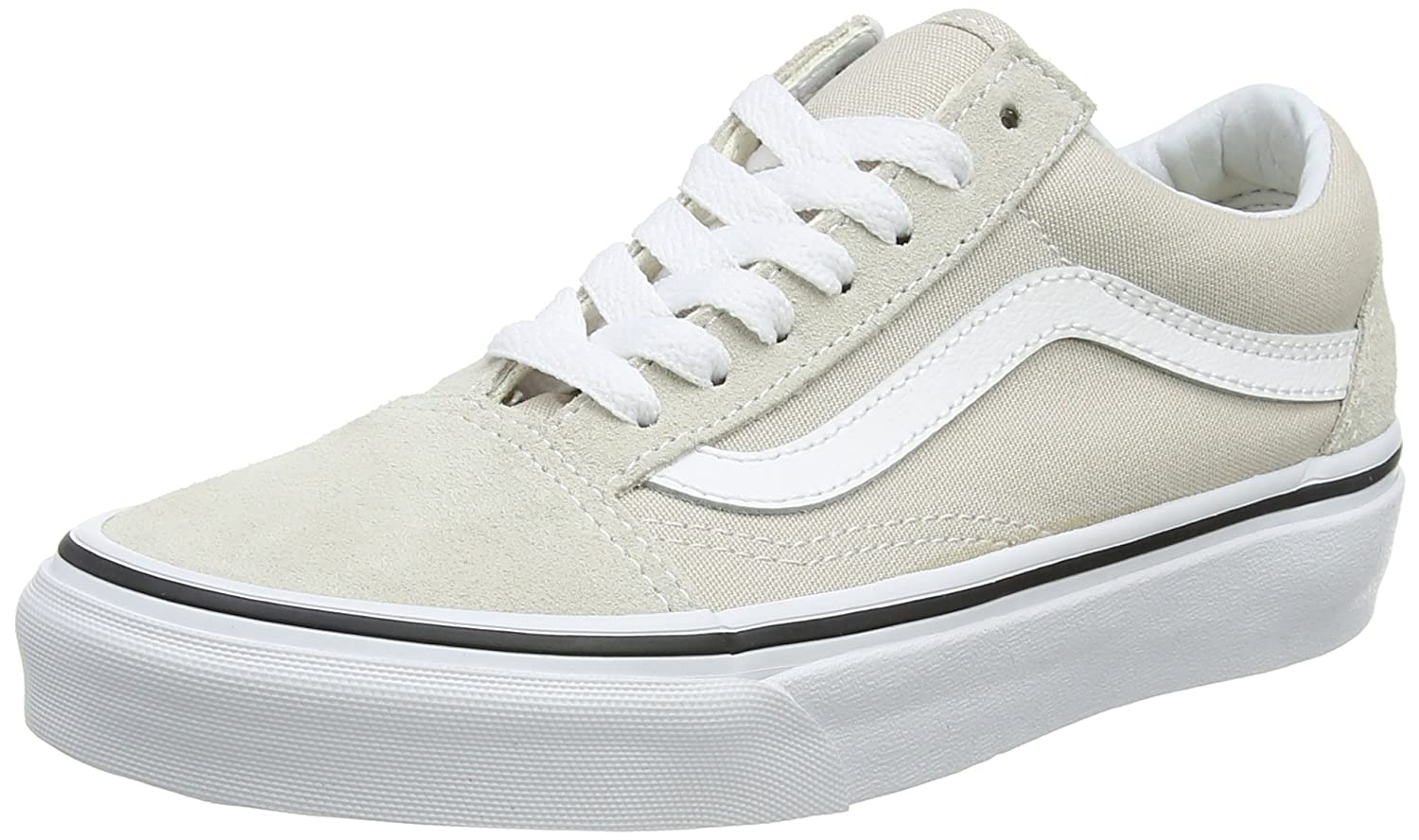 f5c0c35dbf90c6 Vans Old Skool Shoes 6.5 B(M) US Women 5 D(M) US Silver Lining True White   Amazon.com.au  Fashion