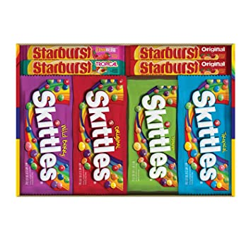 amazon co jp skittles starburst variety pack 30 count スキトルズ