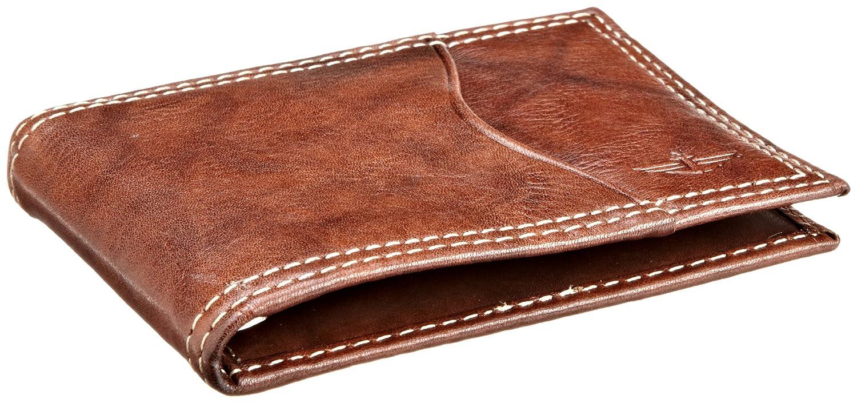 diseño atemporal bf69b 6ce41 f4b5f6d030 dockers cartera compacta para hombre marrón talla ...