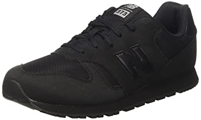 100% authentic 095b2 1b977 New Balance 373, Baskets Mixte Enfant, Noir (Black), 28.5 EU
