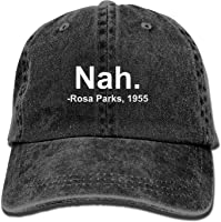 Nah. Rosa Parks, 1955 Vintage Adjustable Jeans Cap Baseball Caps Forman and Woman