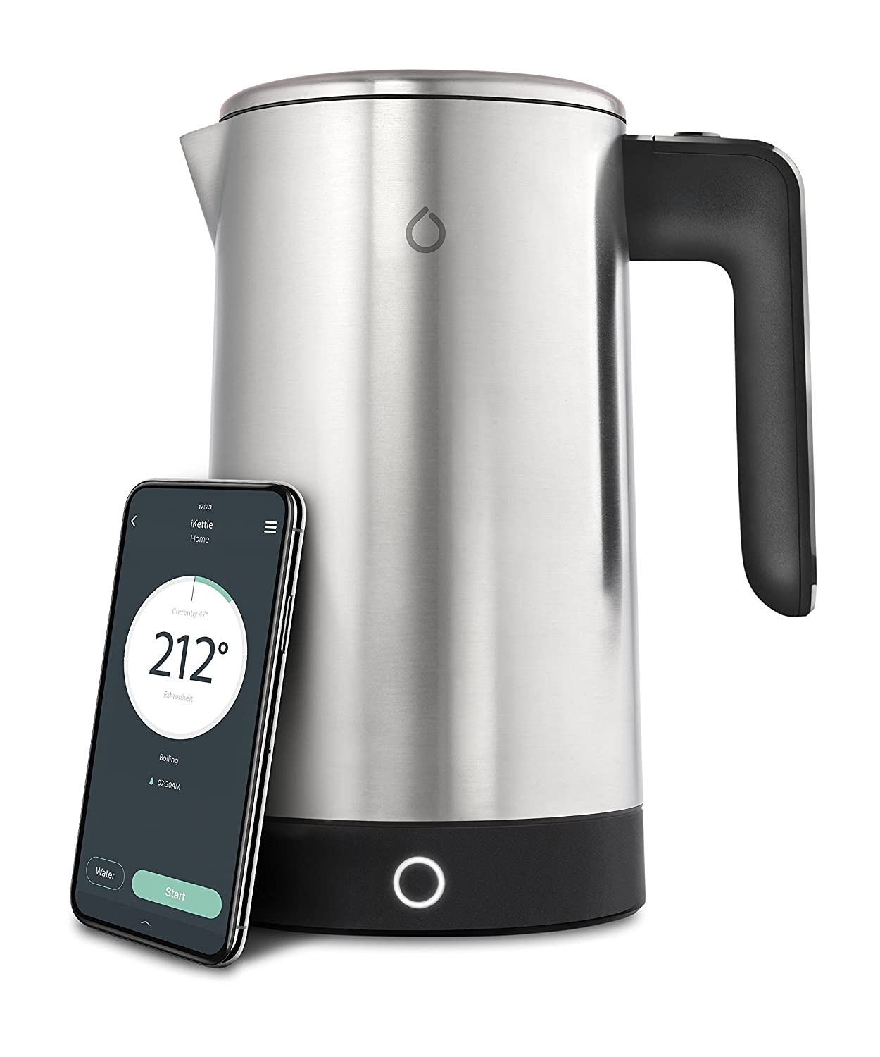 Smarter SMKET01-US Electric iKettle, Silver SMKET01 - US
