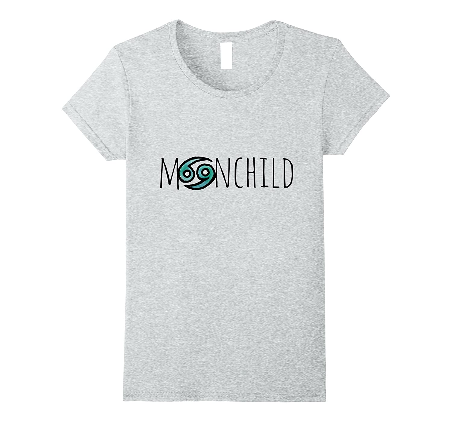 MoonChild t-shirt Cancer Zodiac Symbol tshirt artwork tees