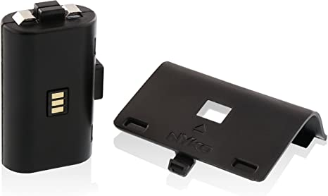 Nyko Power Pak - Batería/Pila recargable (Níquel-metal hidruro (NiMH), Negro, Xbox 360): Amazon.es: Videojuegos