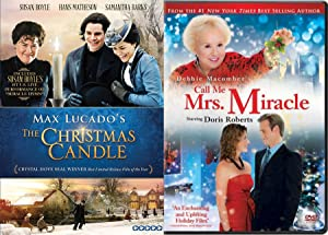 Call Me Mrs. Miracle & The Christmas Candle Max Lucando's Double Feature DVD Bundle Holiday Collection