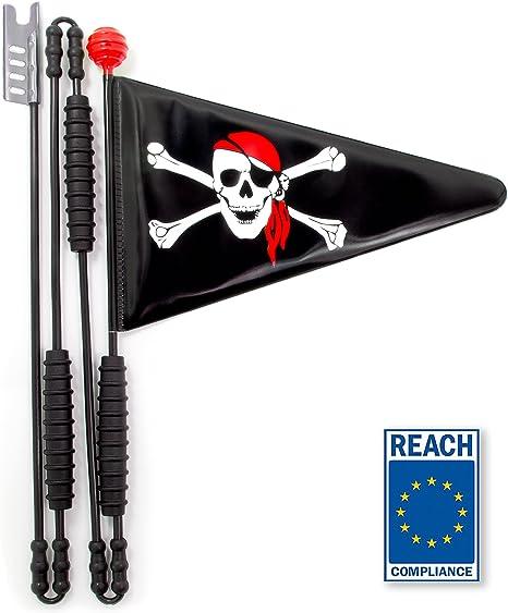 Cycley | banderín de bicicleta | bandera de seguridad para niños ...