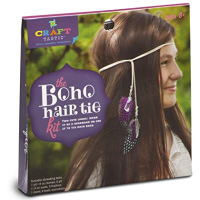 Craft-tastic Boho Hair Tie Kit: Toys & Games