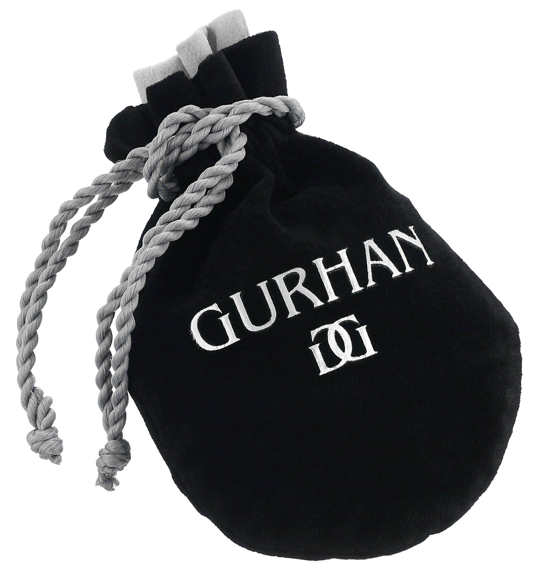 GURHAN ''Clove'' Sterling Silver Pear Top Drop Earrings by Gurhan (Image #3)