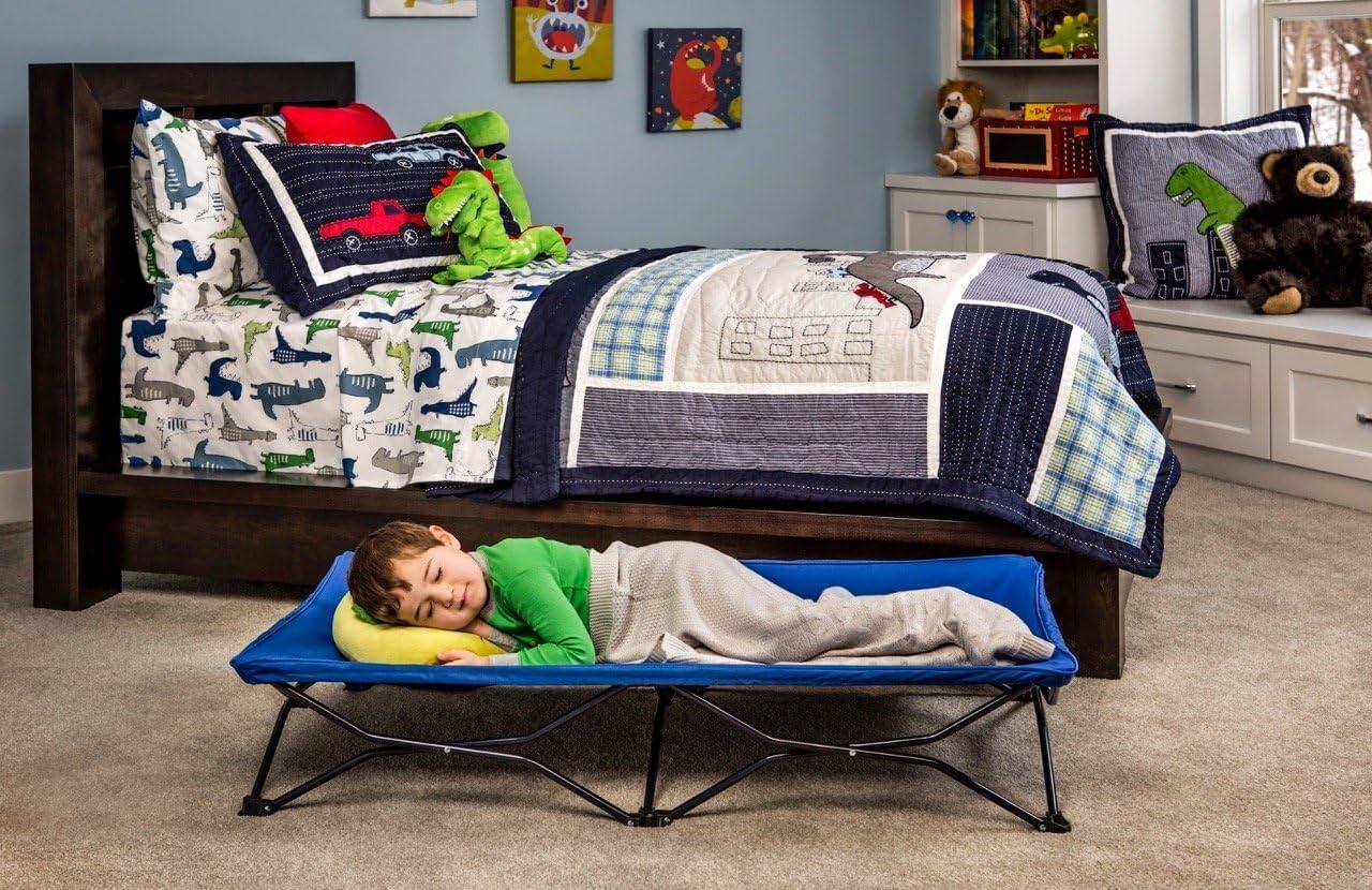 Comprend Drap Housse Regalo mon lit portable bébé lit bleu royal