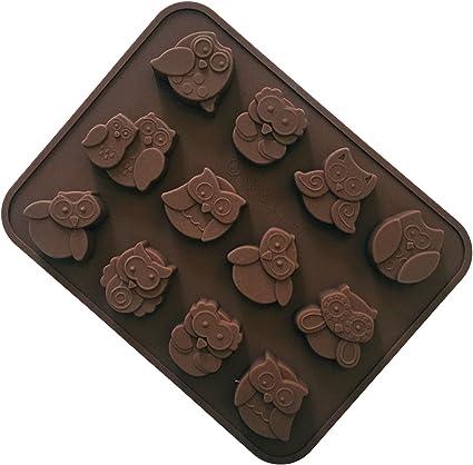 Santé 7 Cavité Licorne Moule en silicone chocolat gâteau Décoration Moule Plateau Cuisson Outil