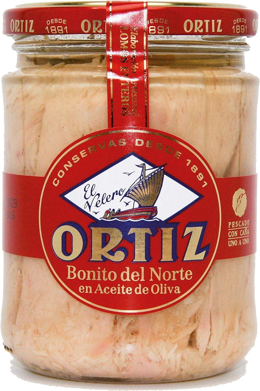 Bonito Del Norte En Aceite De Oliva Ortiz 400 G